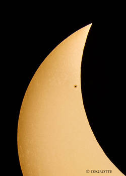 Solar Eclipse - Close Up