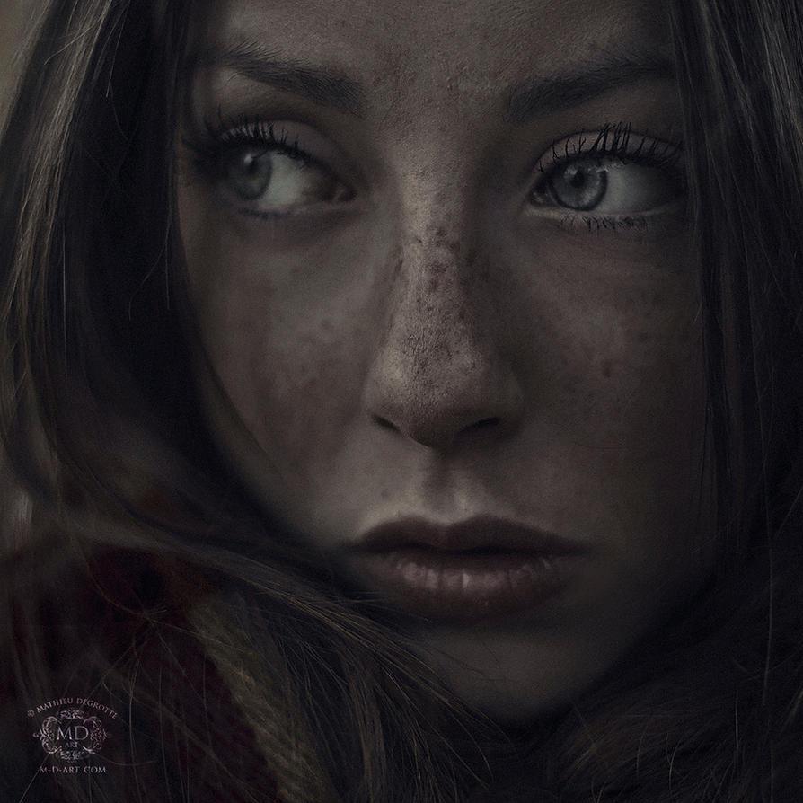 Innocent Eyes by MD-Arts