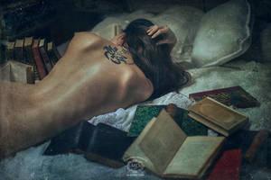 La chair est triste helas et j'ai lu tous... by MD-Arts