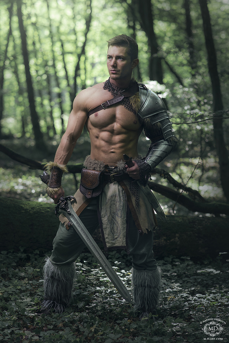 Celtic Warrior by MD-A...