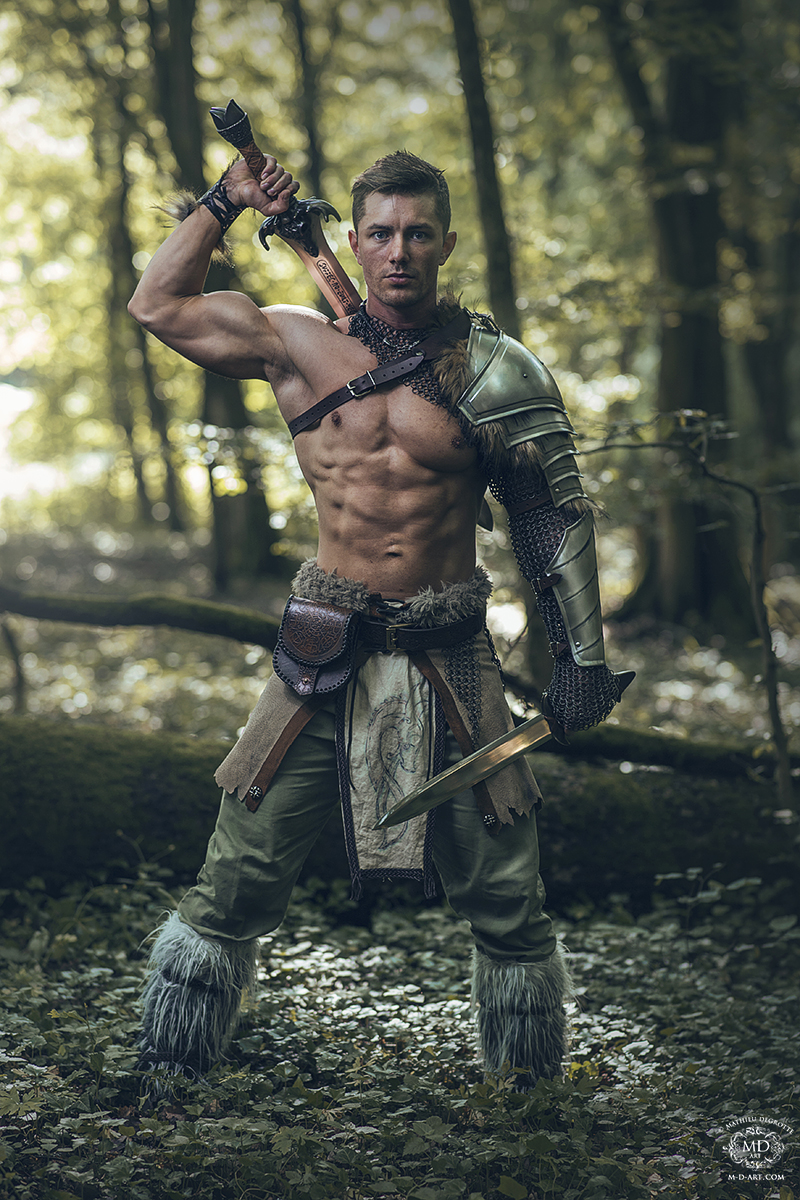 gaelic celtic warrior art