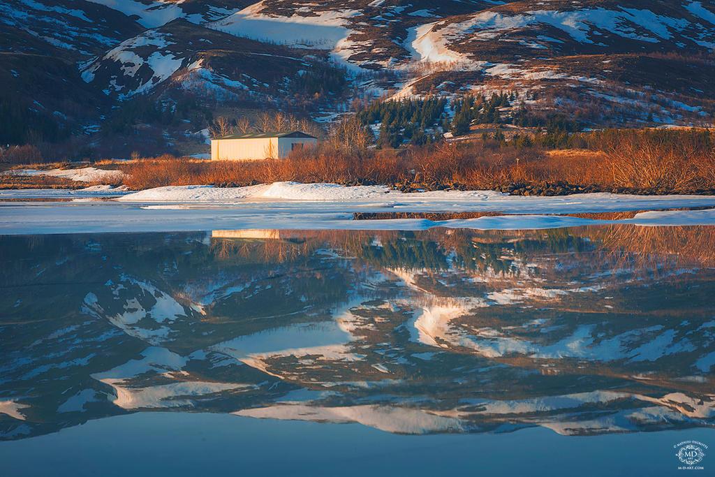 Lake Hredavatn by MD-Arts