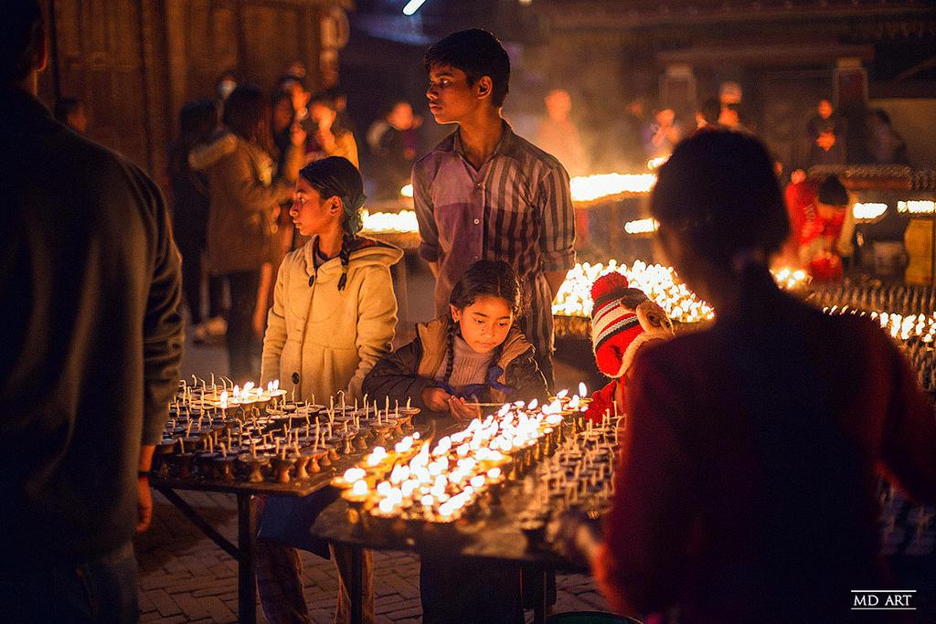 Nepal Lights by MD-Arts