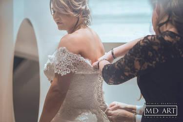 Wedding Dress by MD-Arts