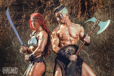 Barbarian Couple