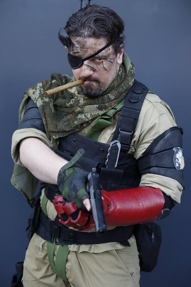 Punished Snake MGSVTPP cosplay by M4n1nm1rr0r