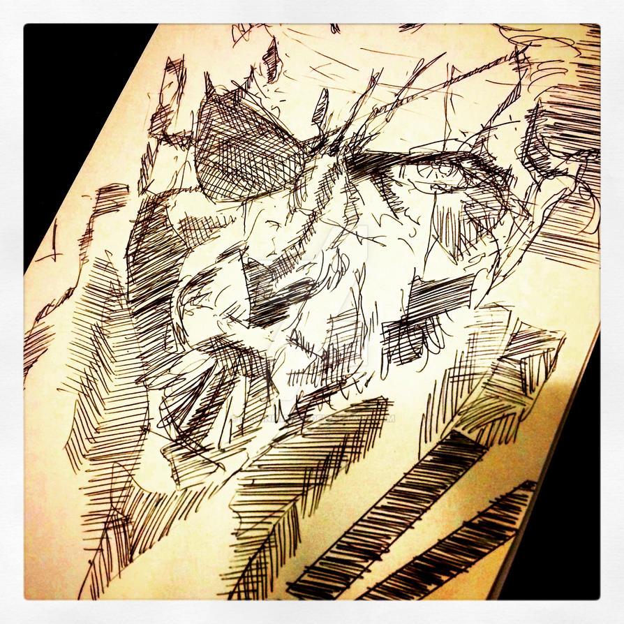 Punished/Venom Snake by M4n1nm1rr0r