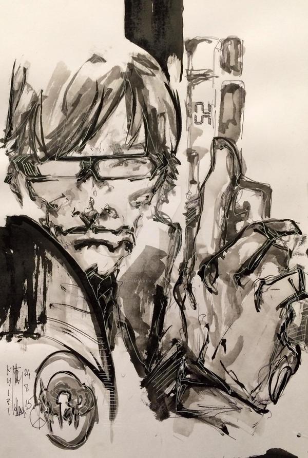 A Hideo Kojima Game by M4n1nm1rr0r