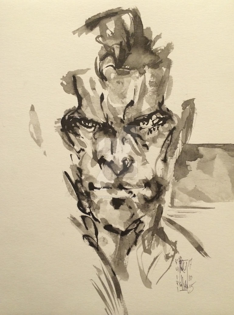 Solid Snake by M4n1nm1rr0r