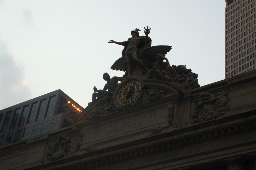 Grand Central Station by Green-Ocean-Stock