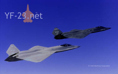 Northrop YF-23 PAV-1 and PAV-2