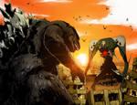 Godzilla vs Sachiel