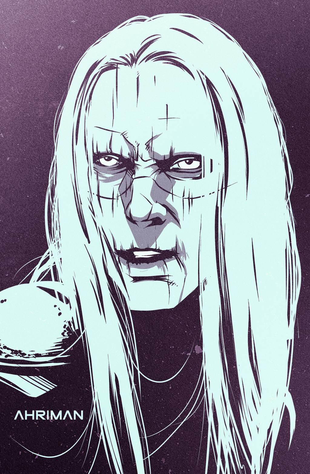 Hellboy sketch #3 by Ahrrr