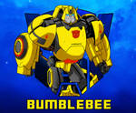 Bumblebee character sketch thingy  :D