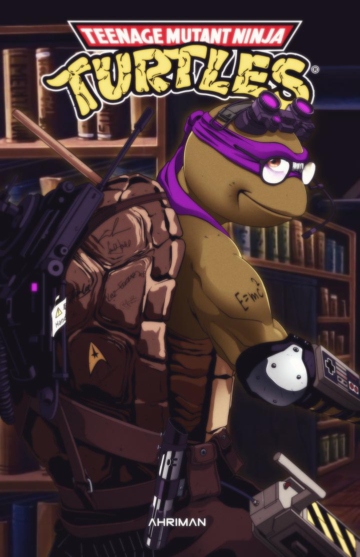 TMNT - Donatello by Ahrrr