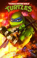 TMNT - Leonardo by Ahrrr