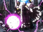 Titan of destruction by Ahrrr