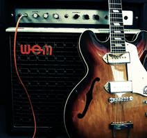 guitar and amp by lastcontactnorth