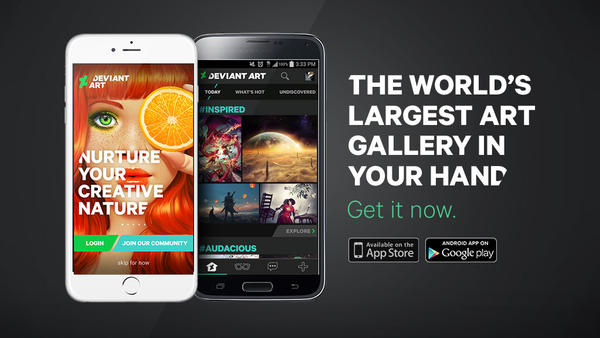 DeviantArt for iOS by devart
