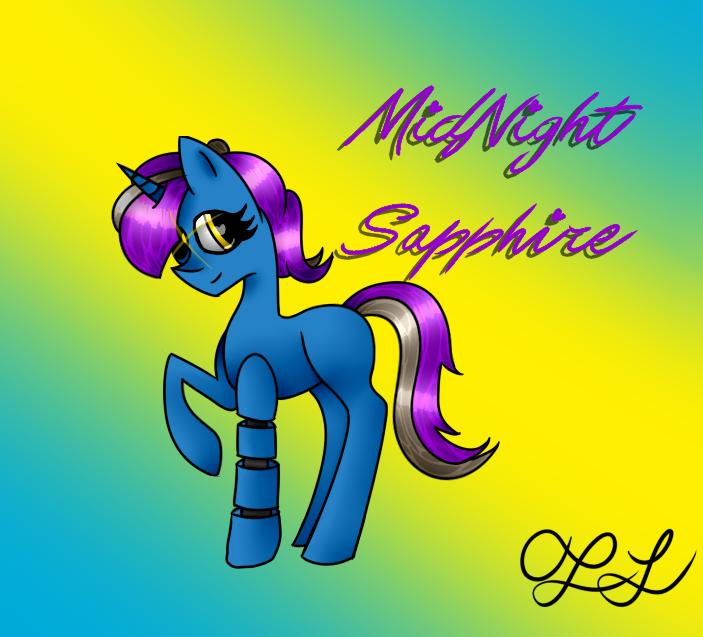 MidNight Sapphire by MidNightFlyer53
