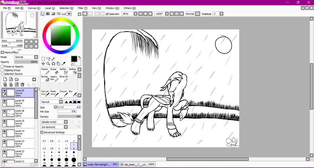 Rain Fall by MidNightFlyer53