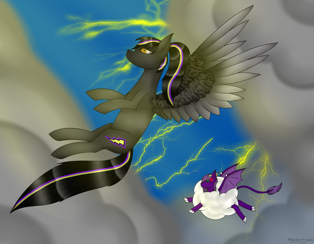 COMMISSION StormBringer by MidNightFlyer53