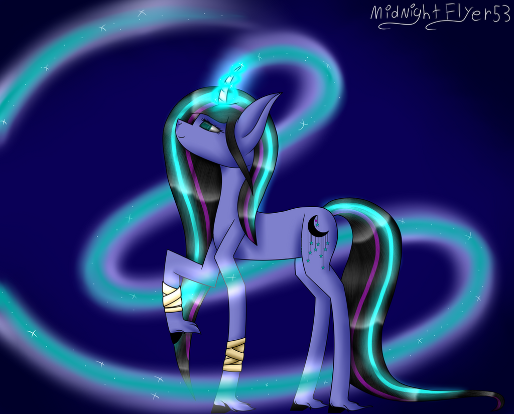 Mystic magic + SPEEDPAINT by MidNightFlyer53