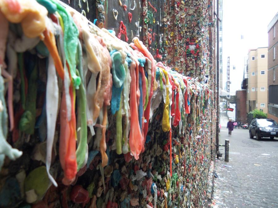 Beautiful Things: Gum Wall, Seattle.