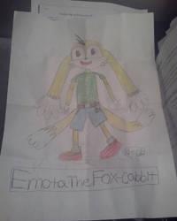 Emota The Fox-Cabbit