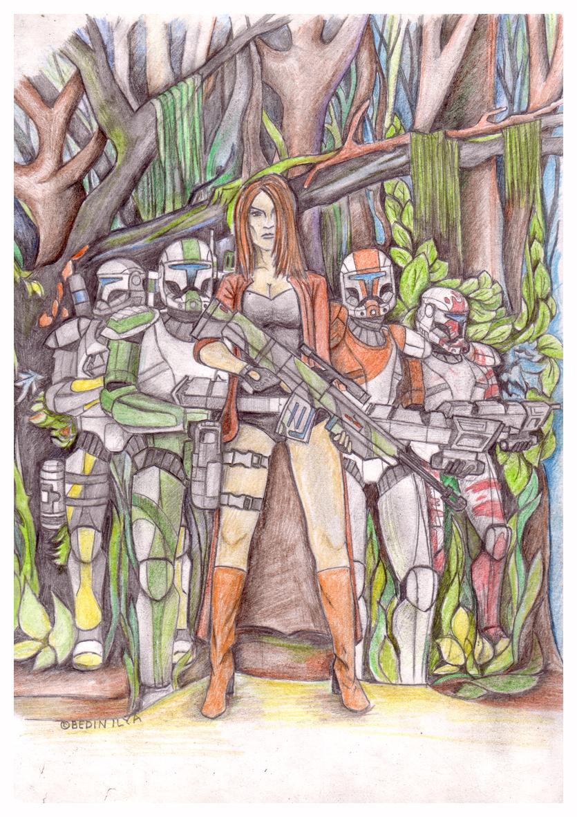 Republic Commando Delta Sguad by FoxbatMit