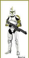 Star Wars Clone Sergeant