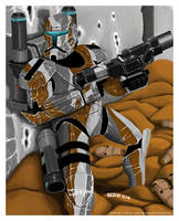 Republic Commando Yayax sguad Dev by FoxbatMit