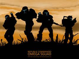 Star Wars Republic Commando Omega Sguad