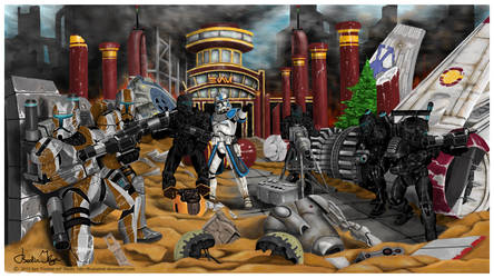 Star Wars Republic Commando Order 66 by FoxbatMit