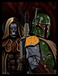 Star Wars Boba Fett and Nom Anor