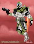 Star Wars Republic Commando HOPE Squad (Green) by FoxbatMit