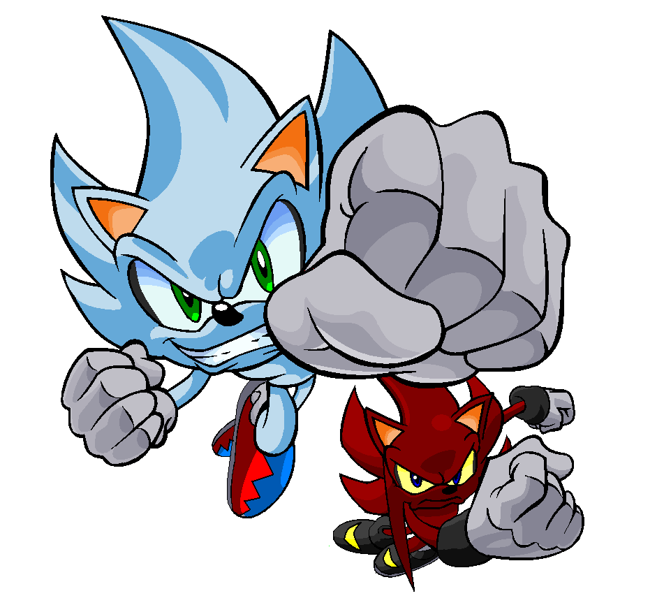 Nazo And Perfect Nazo by Soniahedgehog24 on DeviantArt