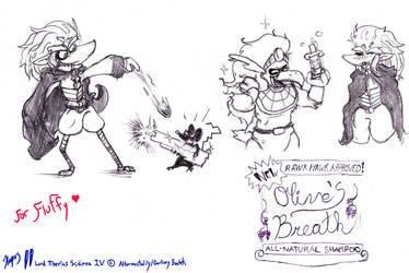 Skaerva vs Inkrat- for Fluffy by Koopus