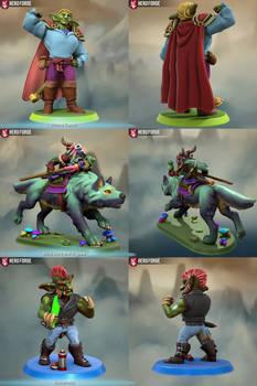 My HeroForge Goblins, Part 1