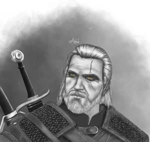 Geralt of Rivia fan art