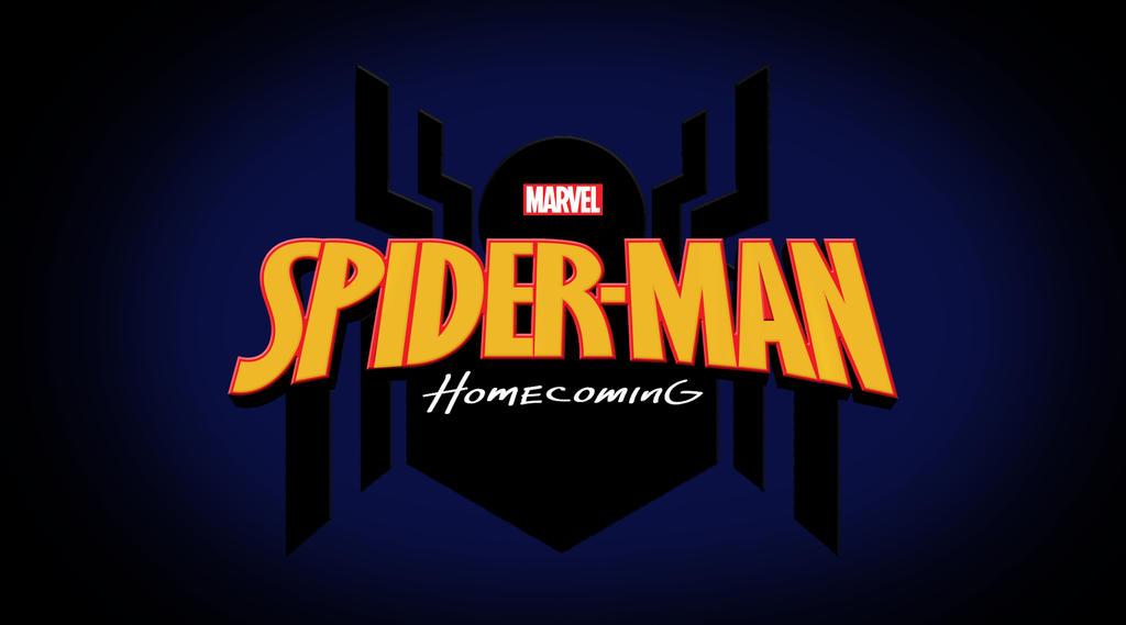 Spider-Man Homecoming Logo by jakew1994 on DeviantArt