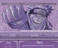 Website Layout WIP by ryuuseiNOhikari
