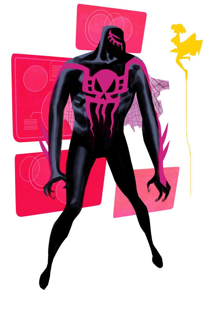 Spider Man 2099.