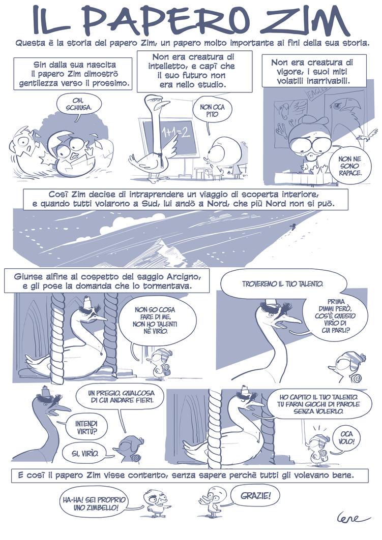 Il papero Zim. by dietrock