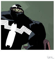 Photobomb level: Venom. by dietrock