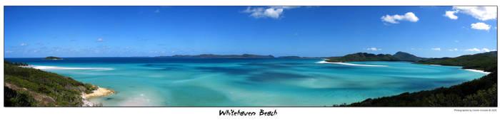 Whitehaven Beach by ldo