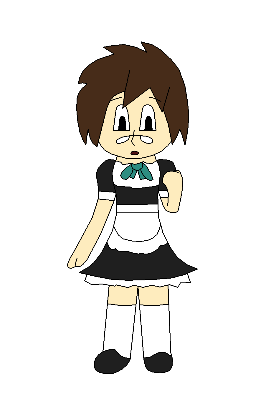 Maid Navi by TheArgoNinja