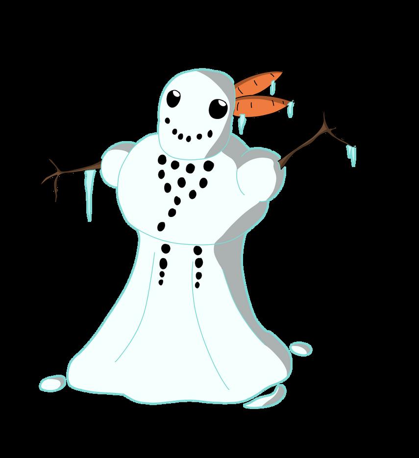 Snowman Collab Piece by TheArgoNinja
