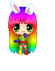 Rainbow Pixel by Rossally