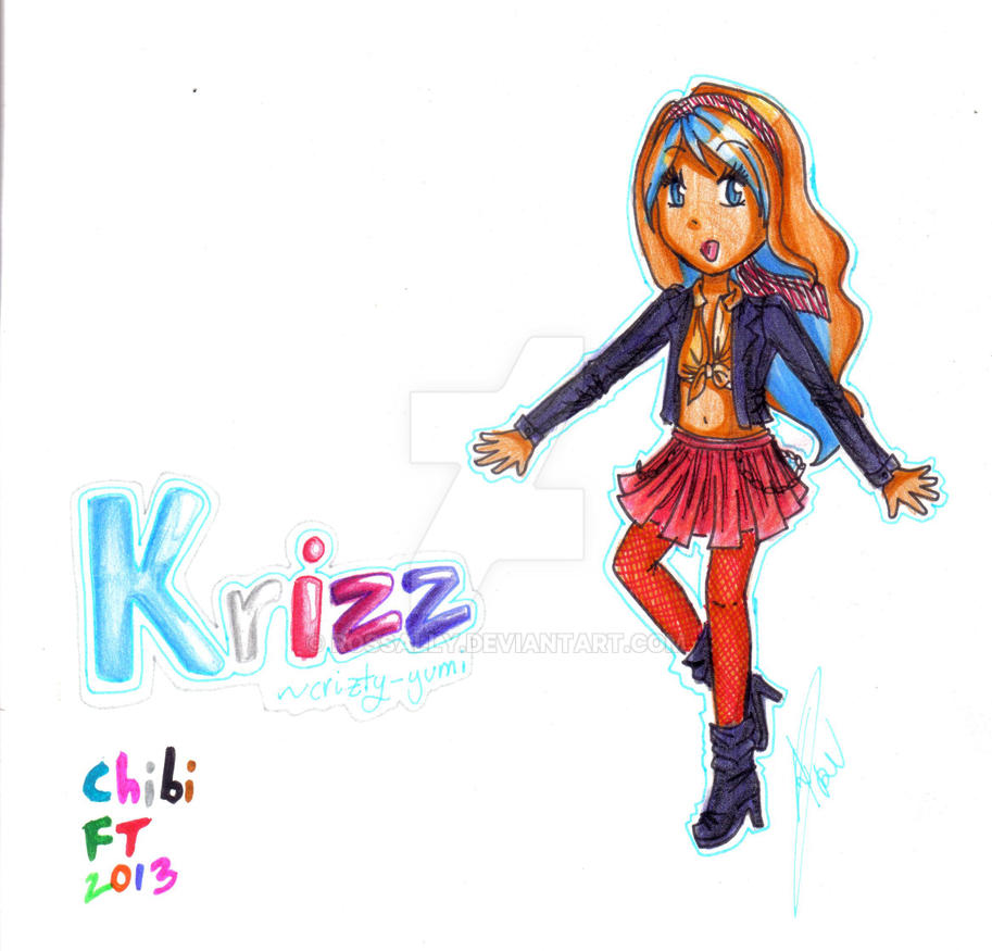 Chibi FT 2013: Krizz by Rossally
